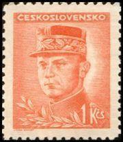 Znaczek: Milan Rastislav Štefánik (Czechosłowacja) (Portraits) Mi:CS 464,Sn:CS 294A,Yt:CS 406A,AFA:CS 320,POF:CS 417