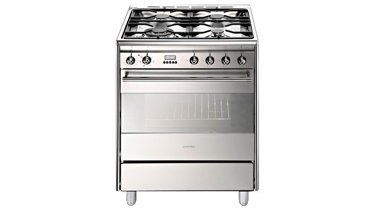 Smeg 60cm Gas and Electric Freestanding Cooker