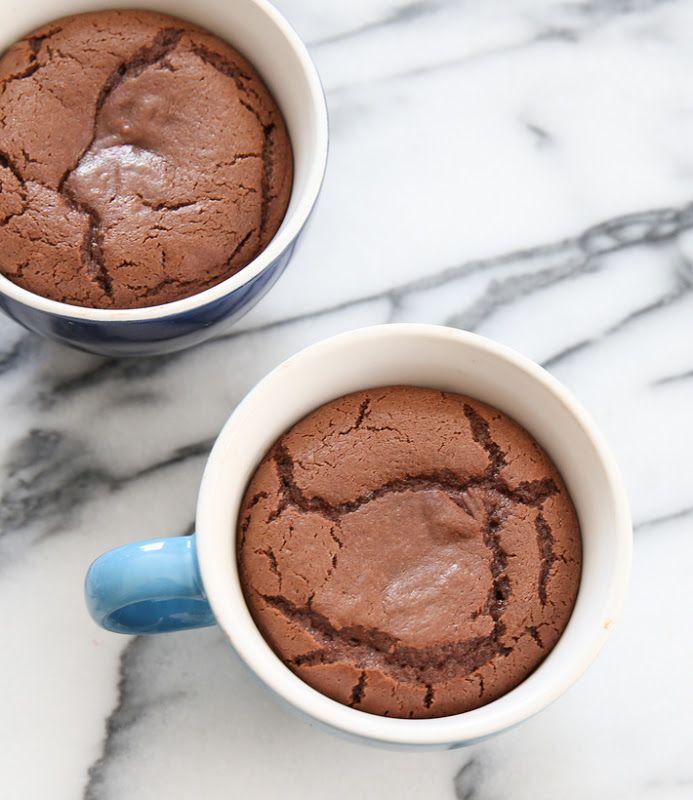 4 Ingredient Molten Nutella Lava Mug Cake | Kirbie's Cravings | A San Diego food & travel blog