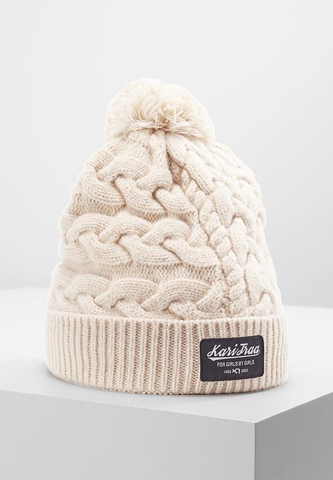 afa5b3fa3 KARI TRAA- SAUE BEANIE - The 100 percent Merino wool Kari Traa Saue Beanie  provides high warmth and a modern knitted look on cold winter days.