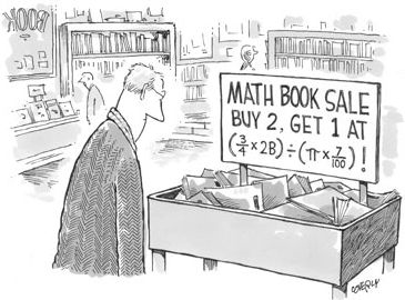 Math book prices...I doubt if anyone will buy these.