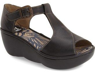 Fly London 'Boda' Platform Wedge Sandal (Women) #peeptoe #sale #shoes #hot