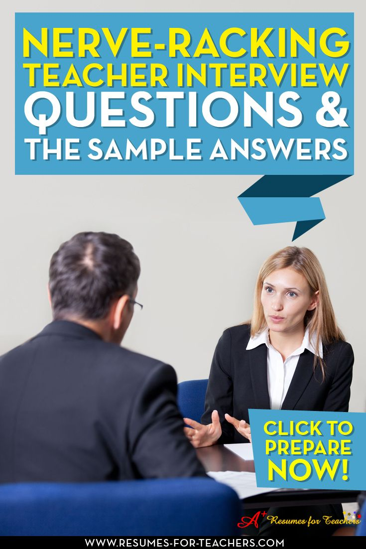 There are some of the top teaching interview questions and sample responses to prepare for your teacher job interview. Also questions to ask the interviewer.