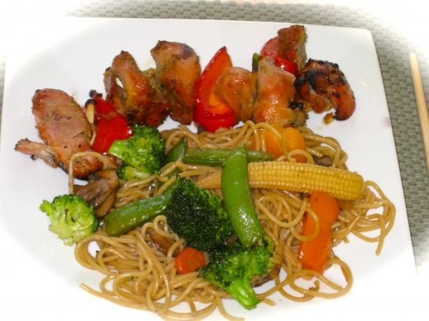 Vegetable Lo Mein | Recipe
