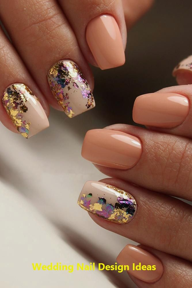 35 Einfache Ideen für Hochzeitsnägel Design 1 #naildesign #nailartideas   – Wedding Nail Art Ideas & Desings