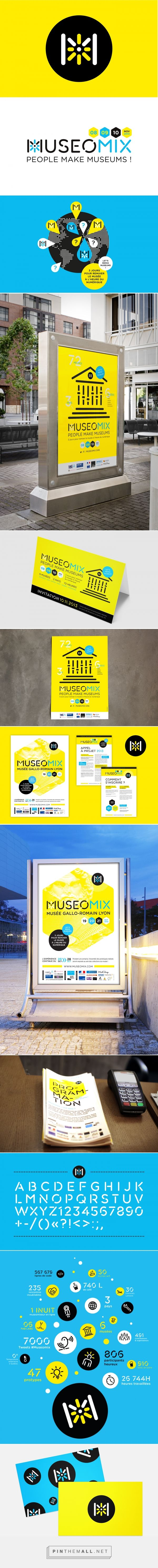 Museomix - Brand identity on Behance | Fivestar Branding – Design and Branding Agency & Inspiration Gallery