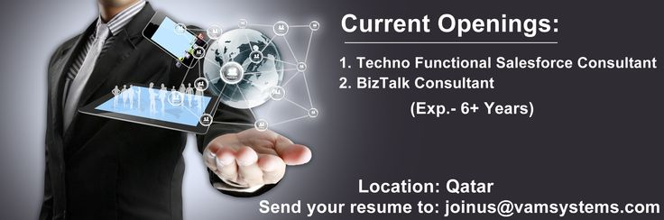 Wanted 1 Techno Functional Salesforce Consultant 2 BizTalk - techno functional consultant sample resume