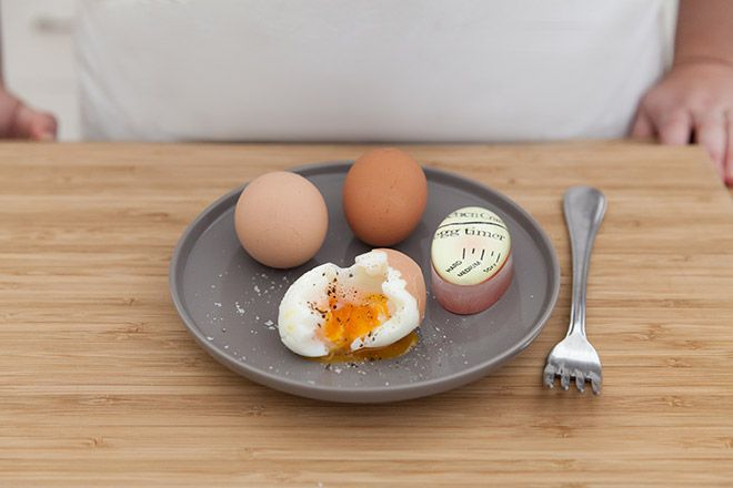 Try this colour changing egg timer for a perfectly boiled egg.