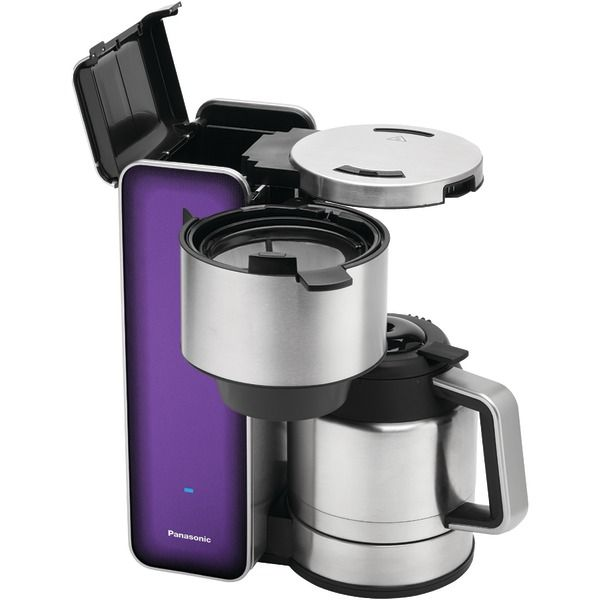 Centrifugal Coffee Maker : Panasonic nc zf v designer coffee maker violet