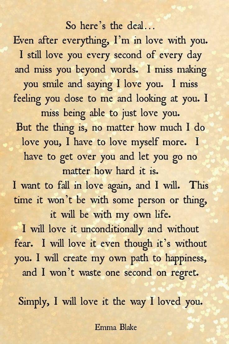Prayer to get over a break up