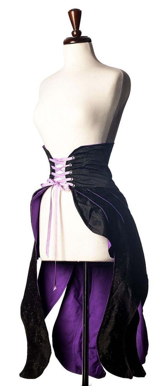 Divine Creature Tentacle Deluxe Cincher Skirt by corsairsboutique