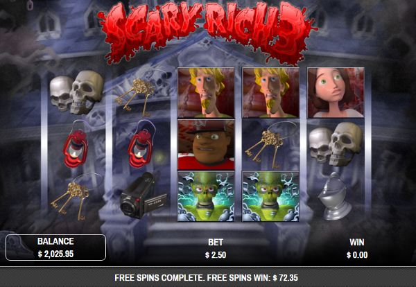 Fantastic Halloween themed slots like the Scary Rich 3 Slot Game. Instant Play free slot reviews. Plays on your home computer or your smartphone and tablets.  CasinoGames.com is loaded with 100's of free casino games.