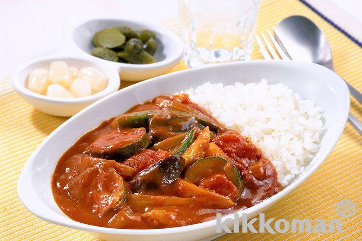 野菜カレー(完熟ホールトマト使用)