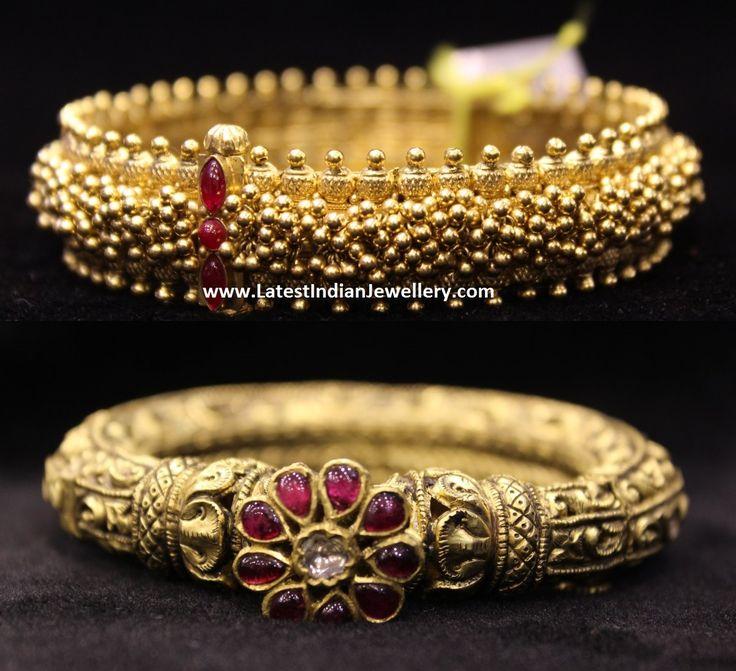 Gold Kankanam Bangle Designs