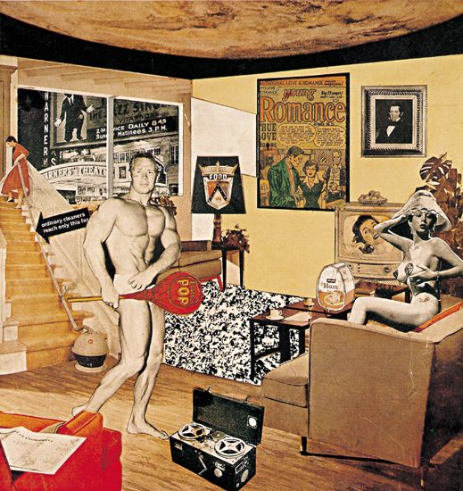 Image result for richard hamilton just what is it that makes today's homes so different so appealing