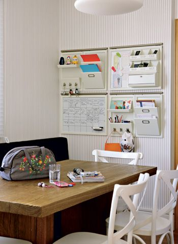 Organize your house  love some ideas on the website.  website is in spanish so make sure you translate words if you can't read spanish.  (which I can't) :)