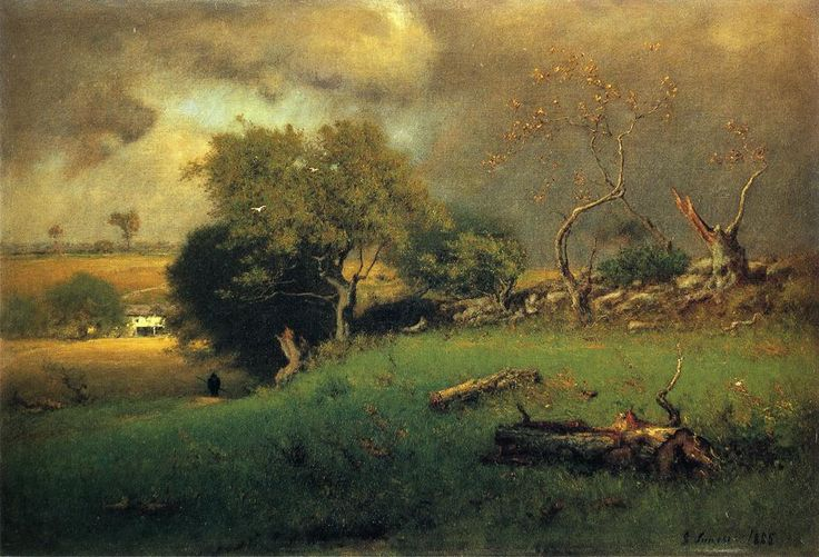 The Storm George Inness 1885 - George Inness - Wikipedia, the free encyclopedia