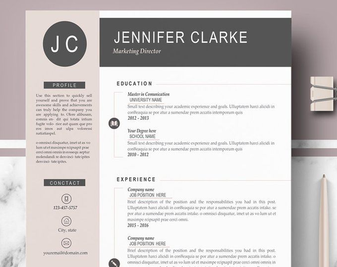 Lawyer Resume Template For Word Pages Professional Attorney Etsy Cv Design Template Cv Template Resume Template