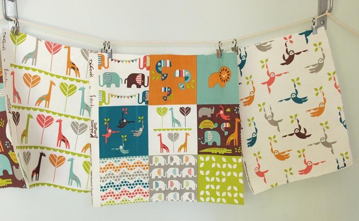 "birchfabrics: Preview ""Dan Stiles Safari Soiree for Birch Fabrics this November!"""