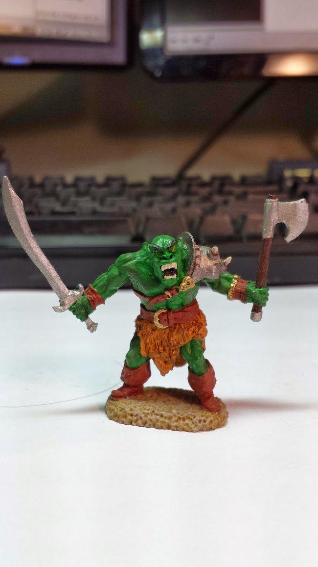 Jade Gaming News: Orc Warrior