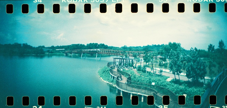 The newly opened Punggol Waterway