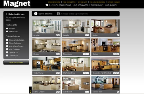 New Online Kitchen Planner Tool | Real Homes | Home improvement and decorating inspiration #PR #interiordesignmagazines