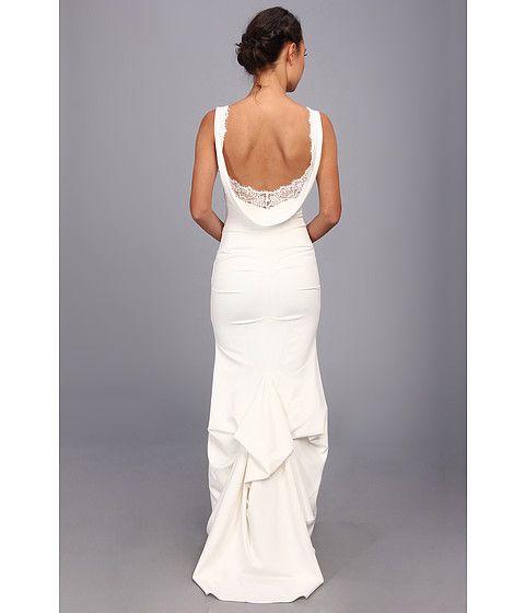 Nicole Miller Nina Bridal Gown Ivory - Zappos.com Free Shipping BOTH Ways