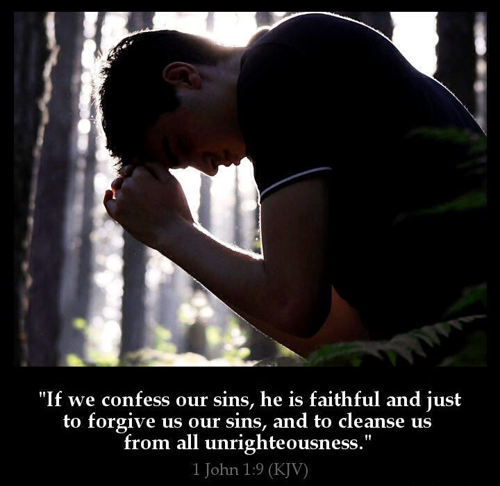He is Faithful and Just to forgive