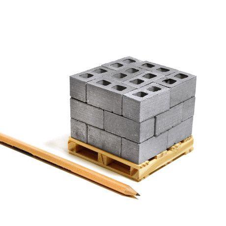 1:12 Cinder Blocks // 24 Pack + Pallet