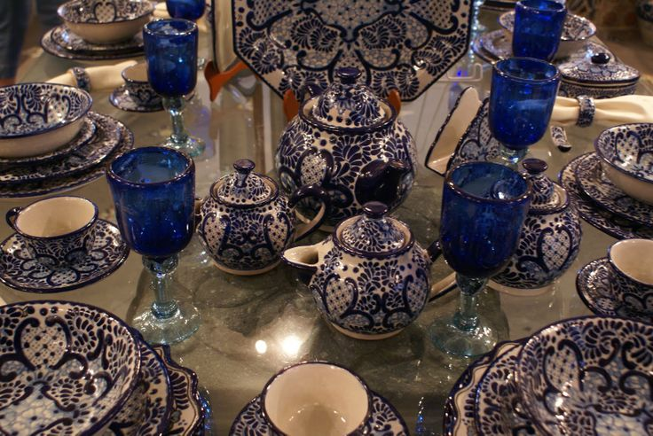 Gorgeous Talavera Table set