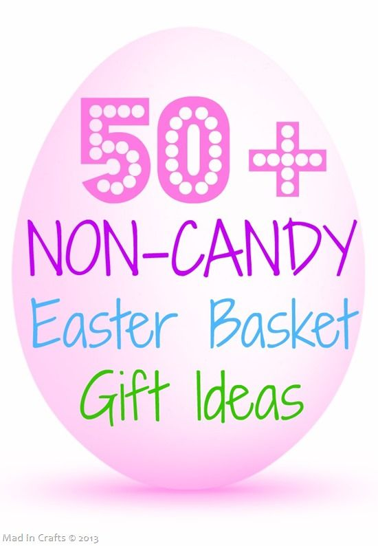 267 best gift craft ideas images on pinterest decor crafts 50 non candy easter basket gift ideas with tutorials negle Gallery