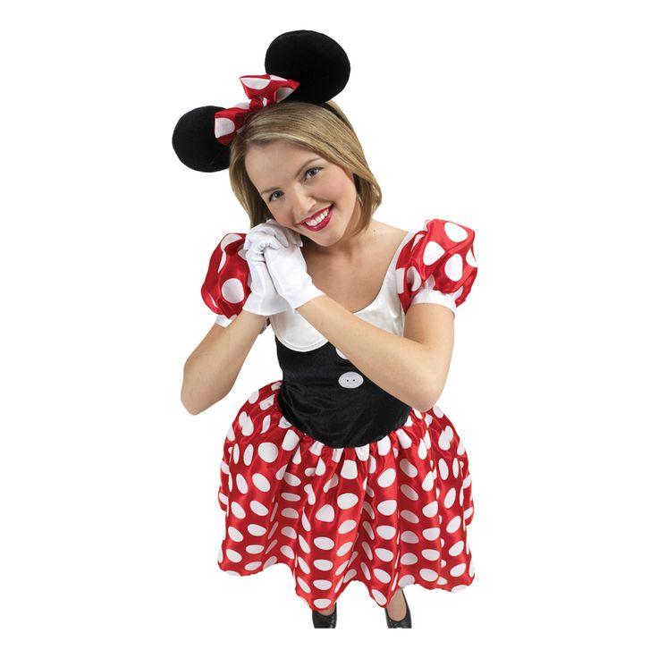 Disney Mimmi Pigg Maskeraddräkt - Partykungen.se
