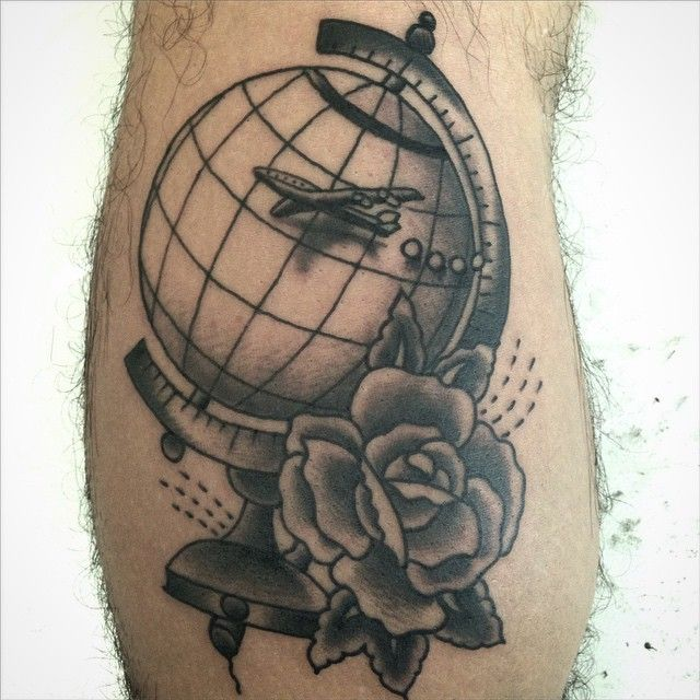Custom tattoos made at BLACKOUT by Rob Kelly