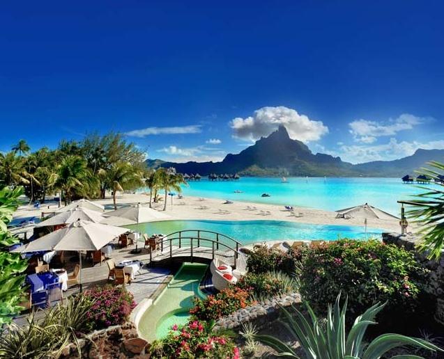 Le Méridien Bora Bora, yes please.