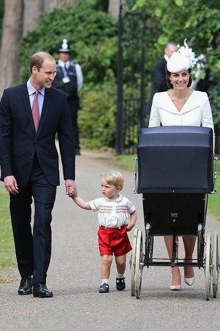 The Princess Charlotte Christening album - christening dress - click through for more photos