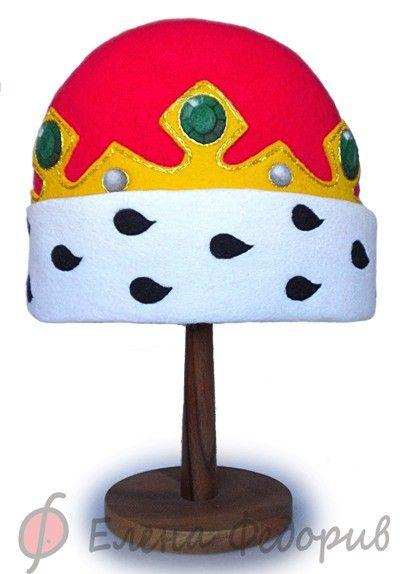 """Купить Шапка для бани """"Королевская"""" - шапка для бани, банная шапка, войлок, шапка дял сануы"""