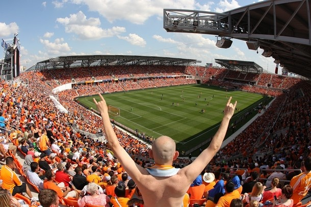 Compass Stadium, Houston Dynamo.