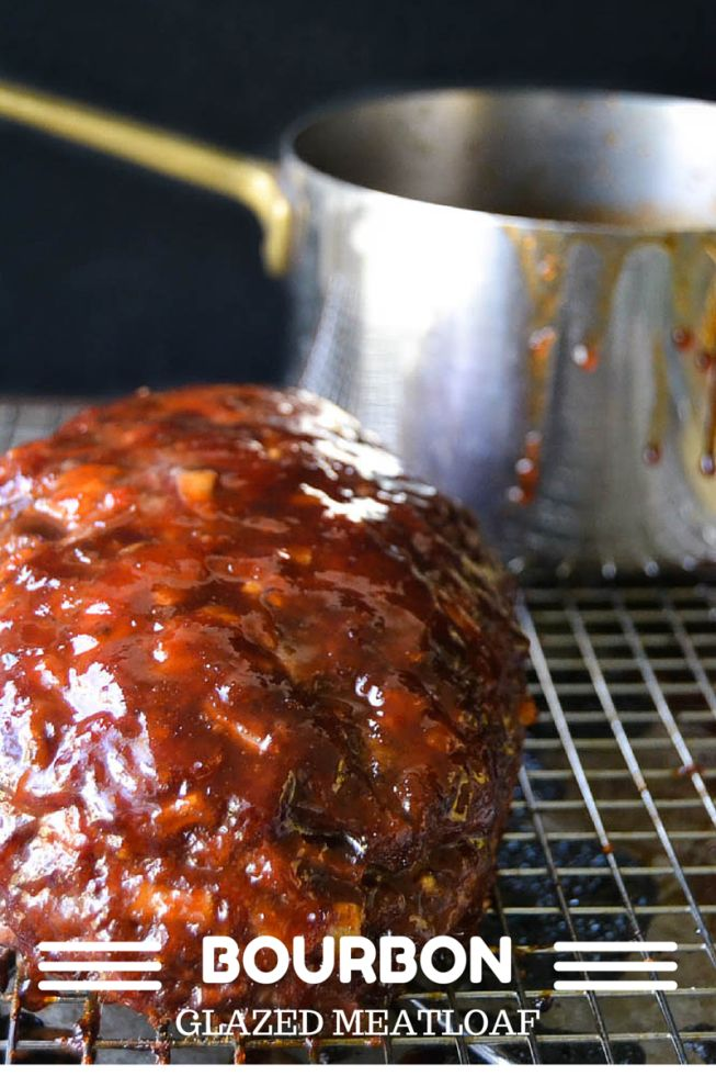 Bourbon Glazed meatloaf gives mom's recipe a run for its money!