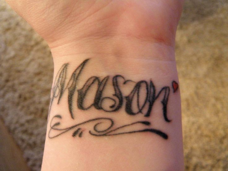 Personalized Tattoos With Tattoo Lettering