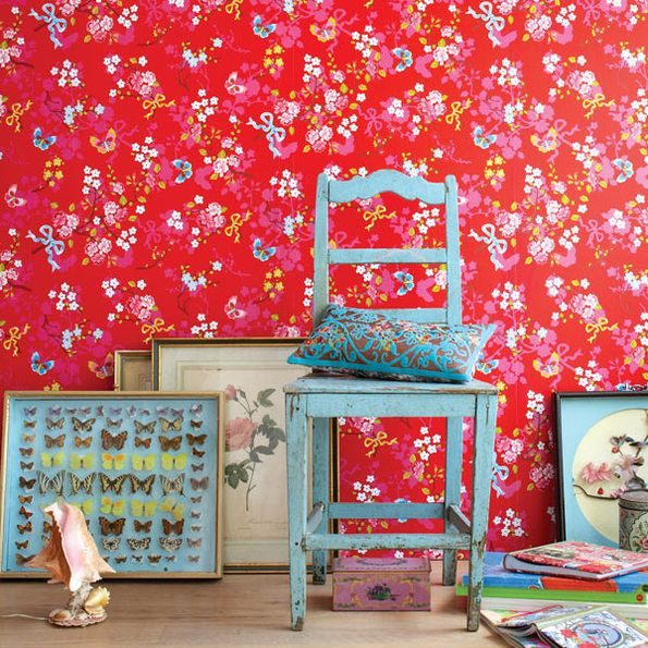 Pin By Magda Miller Victorica On Home Rose Wallpaper Bright Wallpaper Pip Studio