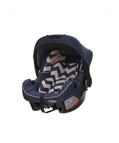 Obaby 0+ Infant Car Seat - Zigzag Navy. Birth to 13kg. http://www.parentideal.co.uk/mothercare---car-seat.html