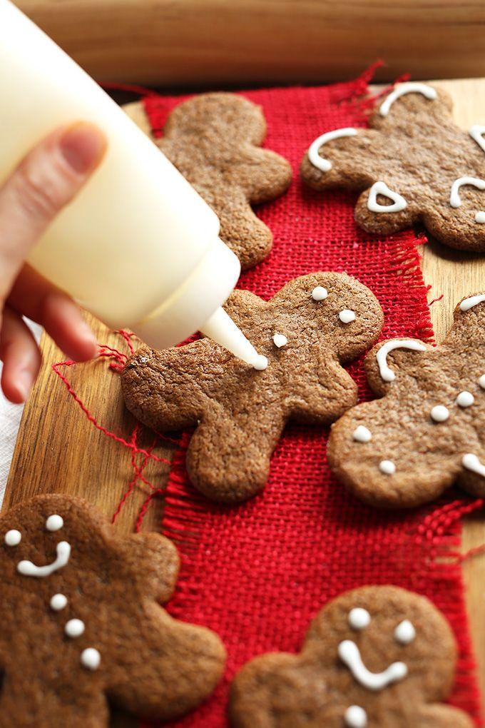 Gluten Free Gingerbread Men | minimalistbaker.com