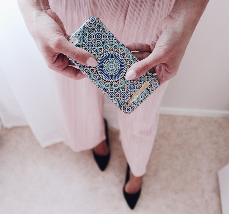 Moroccan Zellige by lovely @adelinaadelina - Fashion case phone cases iphone inspiration iDeal of Sweden #Mosaic #blue #fashion #inspo #iphone #pattern #tile #summer #Marrakech