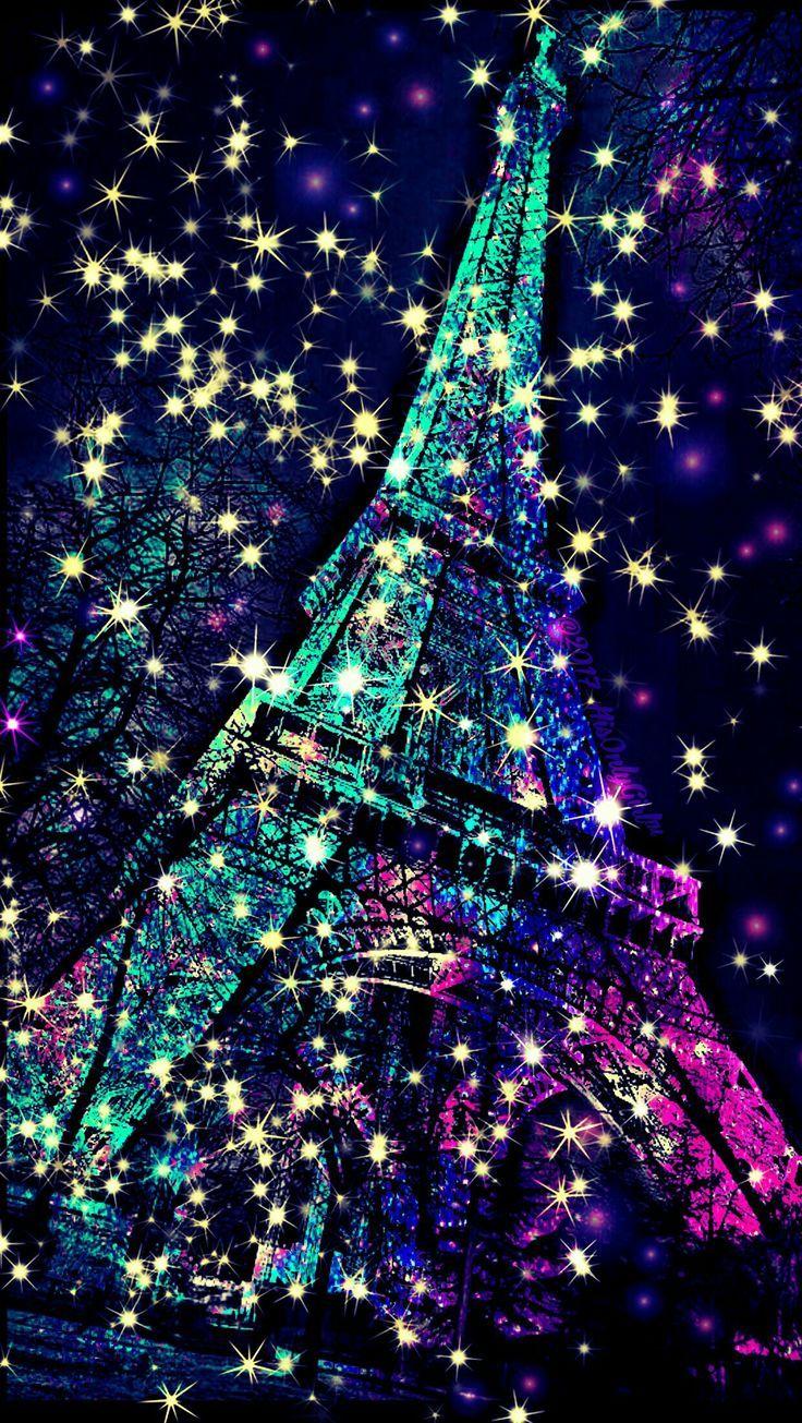 картинки эйфелевой башни блестящие или