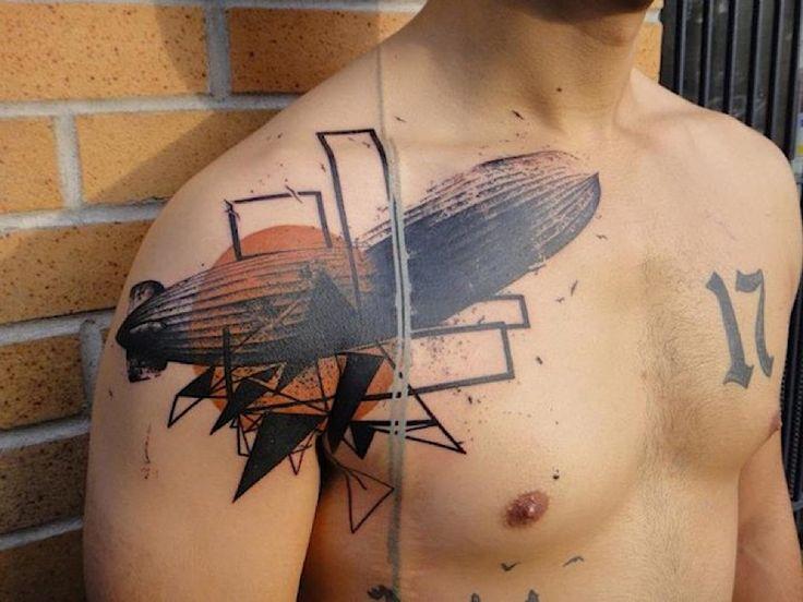 """""""Photoshop"""" aus der Nadel: Die Tattoos von Xoil  Loic Lavenu alias Xoil ist Tattoo-Künstler in Frankreich und hat sich mit einem Stil, der im Netz unter """"Photoshop"""" kursiert, einen Namen gemac..."""