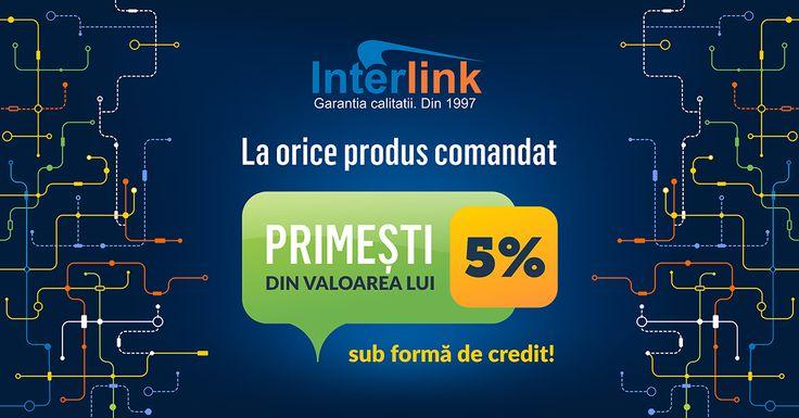 Cumpara si cumuleaza credite! http://www.interlink.ro/blog/cumpara-si-cumuleaza-credite