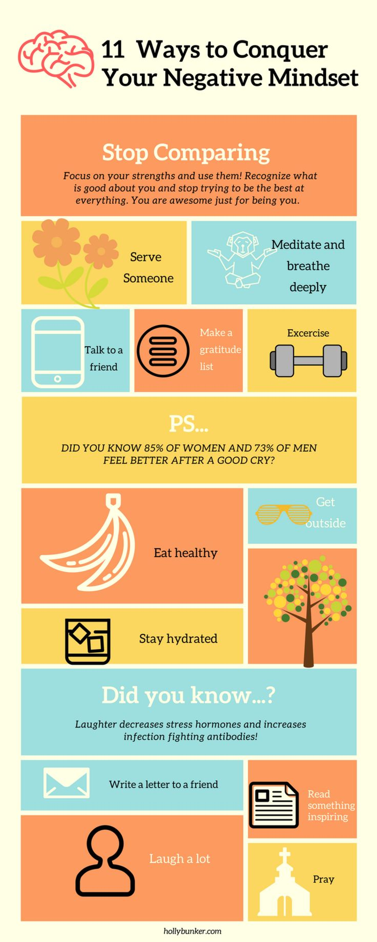 If you enjoyed this post, share it! And feel free to download this infographic to help motivate you on your journey to a positive attitude!