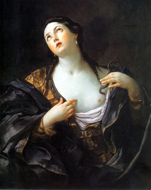 Suicidio di Cleopatra, Guido Reni, 1598Cleopatra Guido, Artists Eye, Death, Reni 15751642, Canvas, Cleopatra Vii, Guido Reni, Art Pnt Guidoreni, Oil Painting