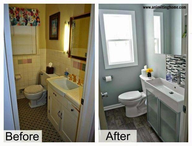 Fliesenbadezimmer Wannenbadezimmer Umgestalten Waschbecken