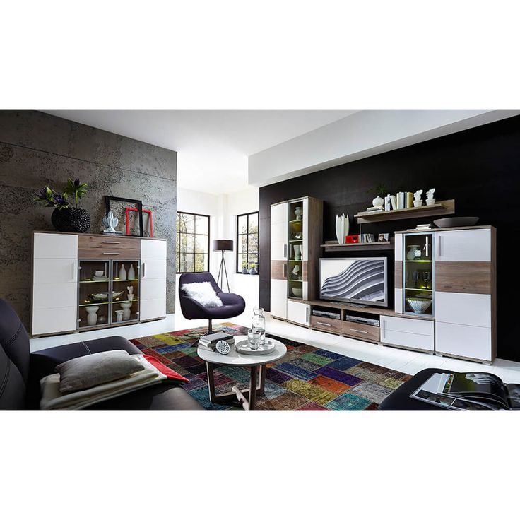 Die besten 25+ Wohnwand günstig kaufen Ideen auf Pinterest - wohnzimmer wohnwand weiß